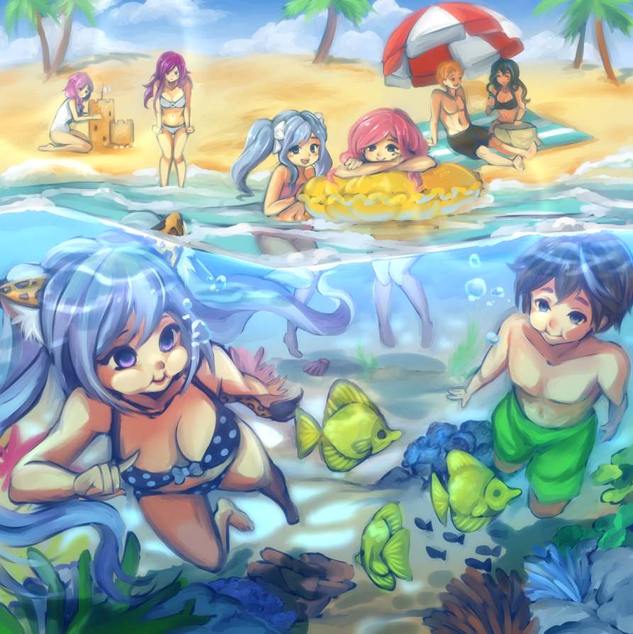 [CE] Animelia High's Summer Vacation by Wiki234