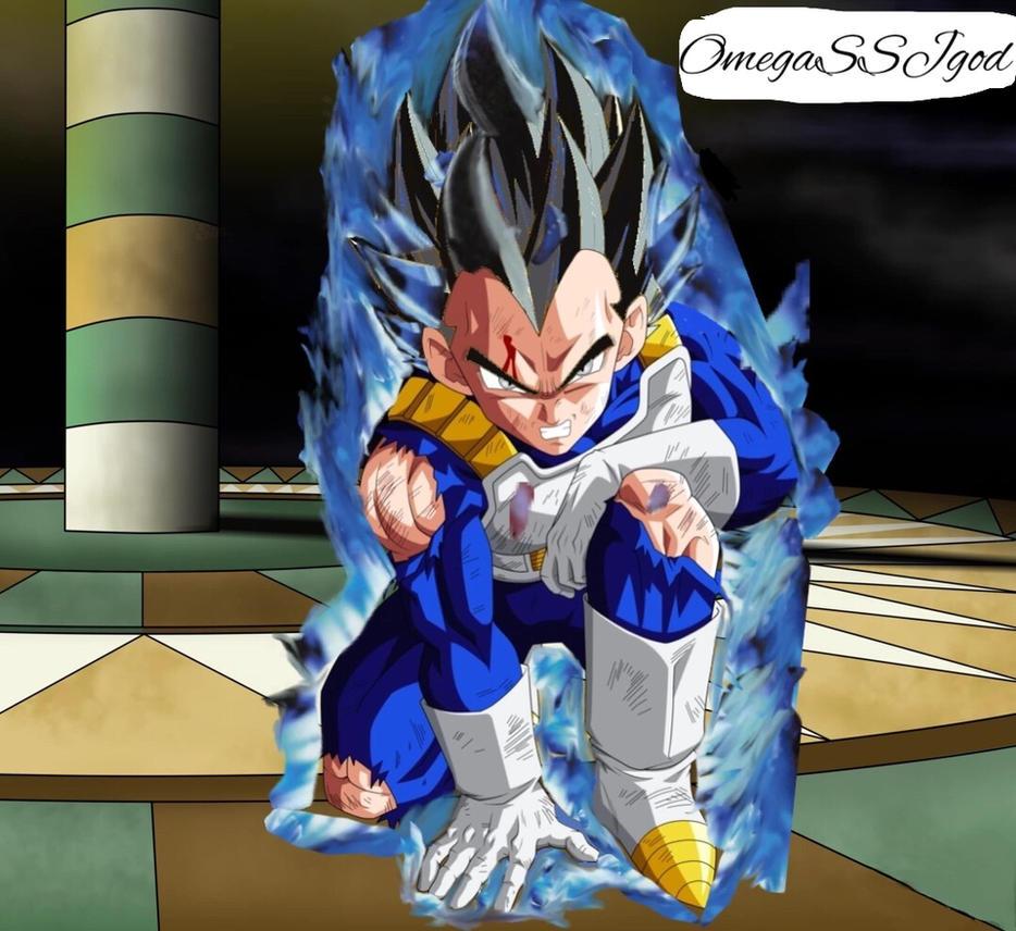 Vegeta(New Form Dragon Ball Super) by OmegaSSJgod on DeviantArt