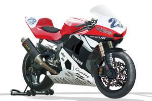 Yamaha Bike Toon by Sean-87