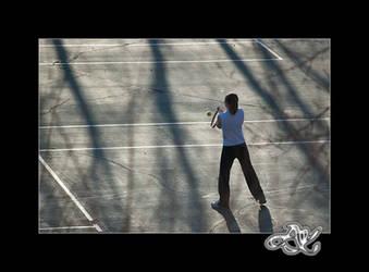 Shadow Tennis by minainerz