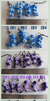 Sale Tentacle Charms and Key chains