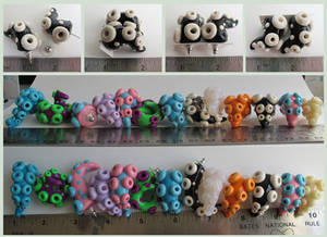 Tentacle Earrings For Sale Group