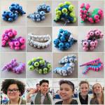 Tentacle Earrings Fanime 3