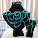 Turquoise Tentacle Set
