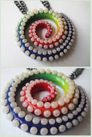 Rainbow Swirl Tentacle by KTOctopus