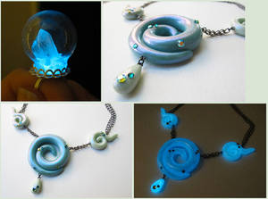 Glow Aqua jewelry