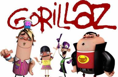 Gorillaz by mrlorgin