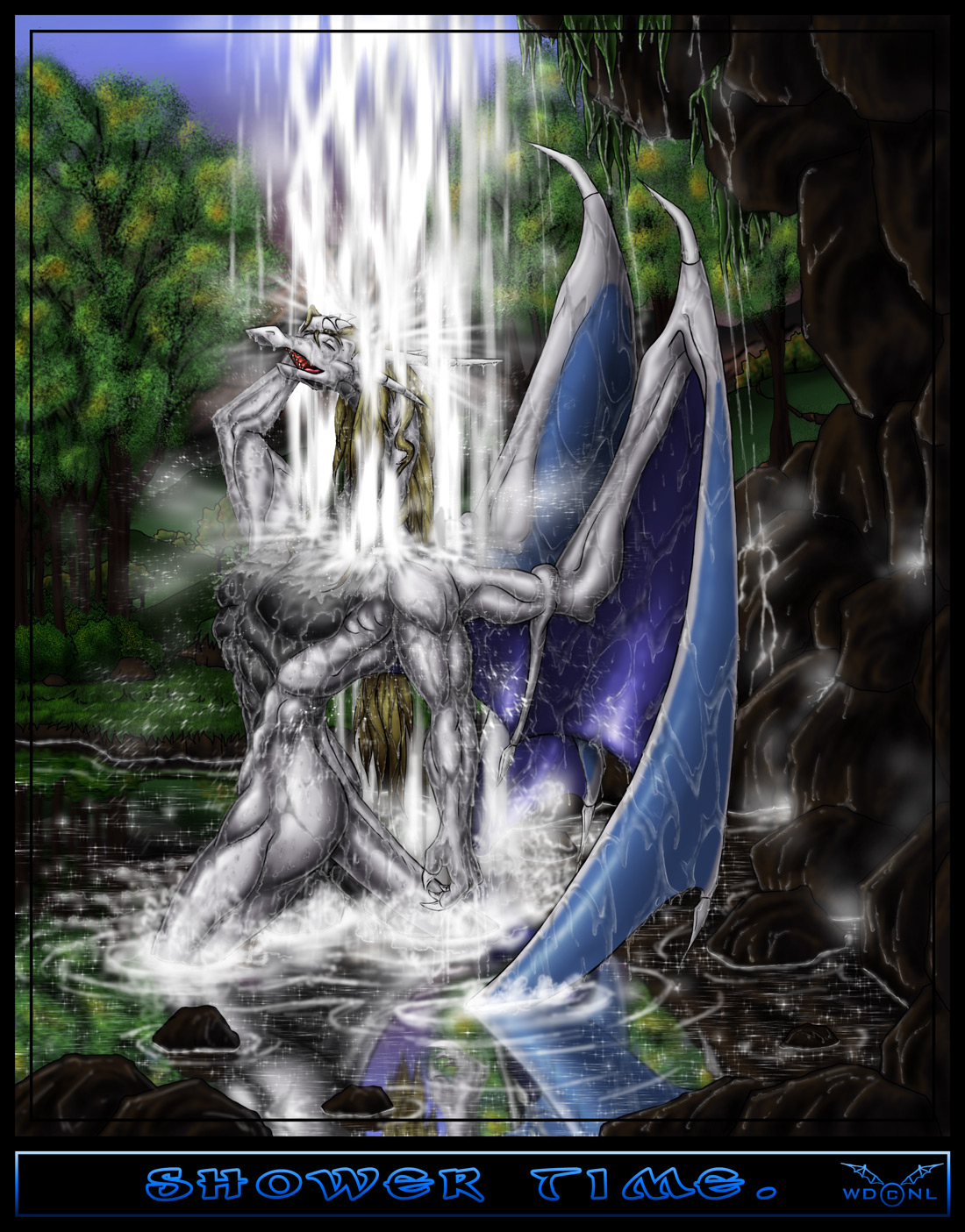 how to draw the waterbeast dragon riders of break