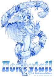 Honeytail --ballpoint-- by White-Dragon-NL