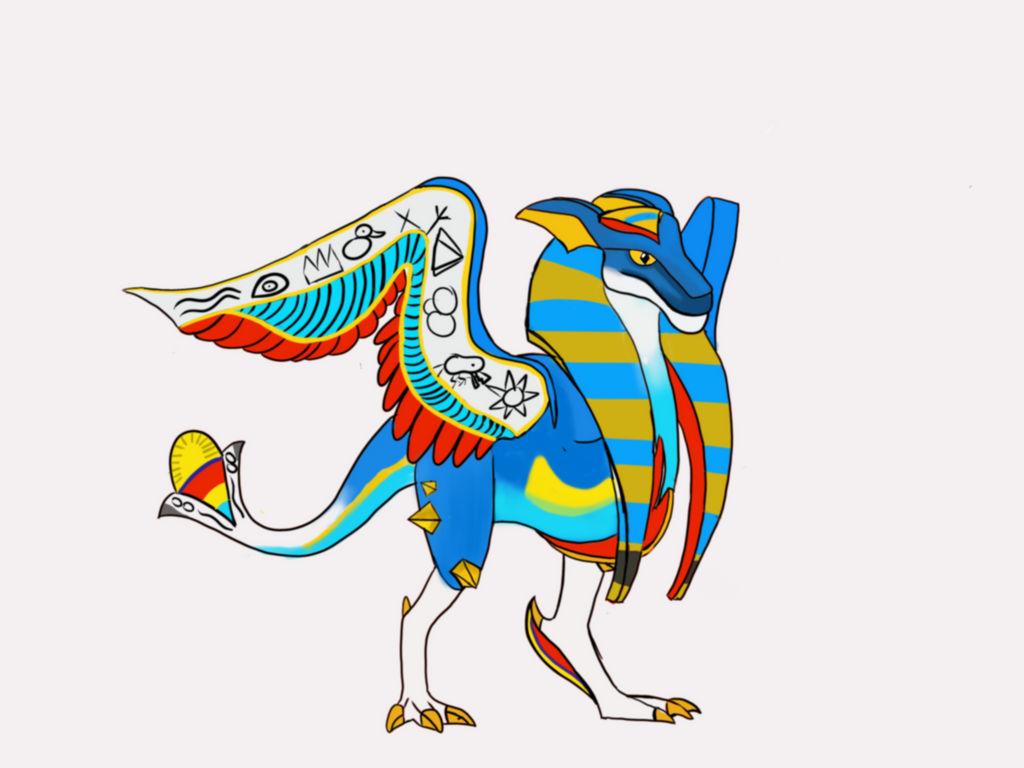 Hieroglyph Drago (Dragonvale World) by JeremyRex on DeviantArt