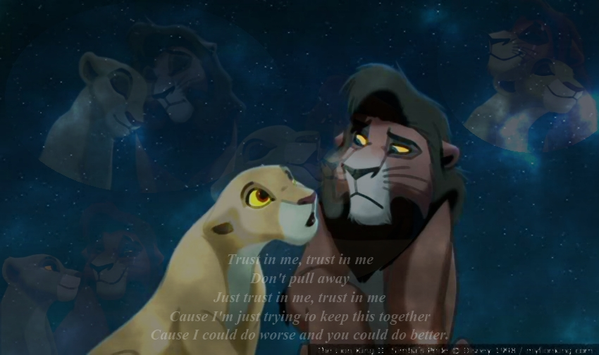 Kovu and Kiara 1 by Topophobia on DeviantArt