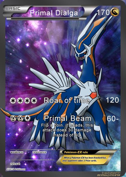 Primal Dialga ( My second deviation) by pokemonfan1233 on ...