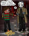 Not Freddy's day....