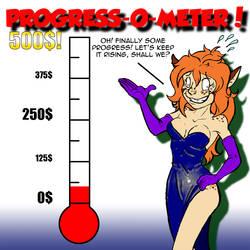 Montreal Comiccon 2014 commission Progress-O-Meter