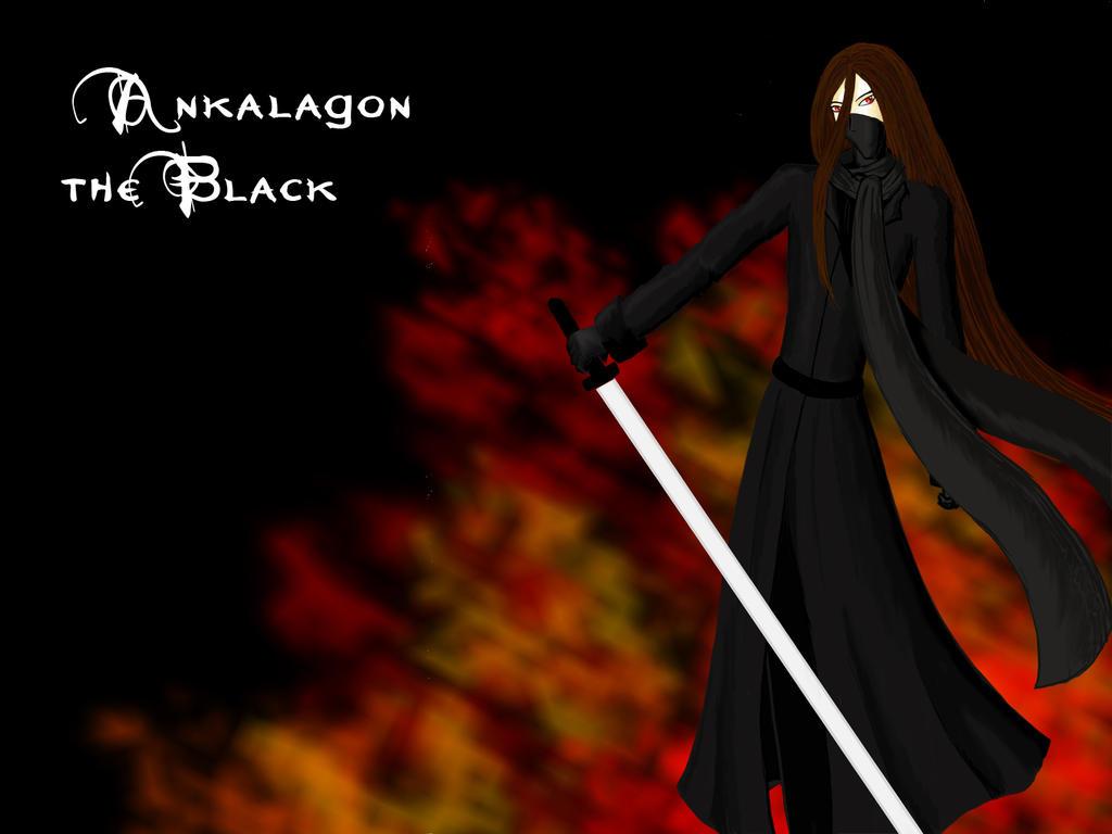 Ankalagon the Black by Helga-Mareritt