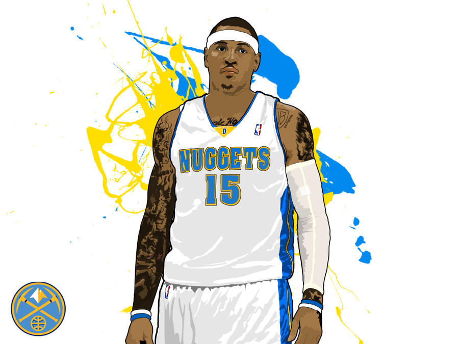Carmelo Anthony Cartoon