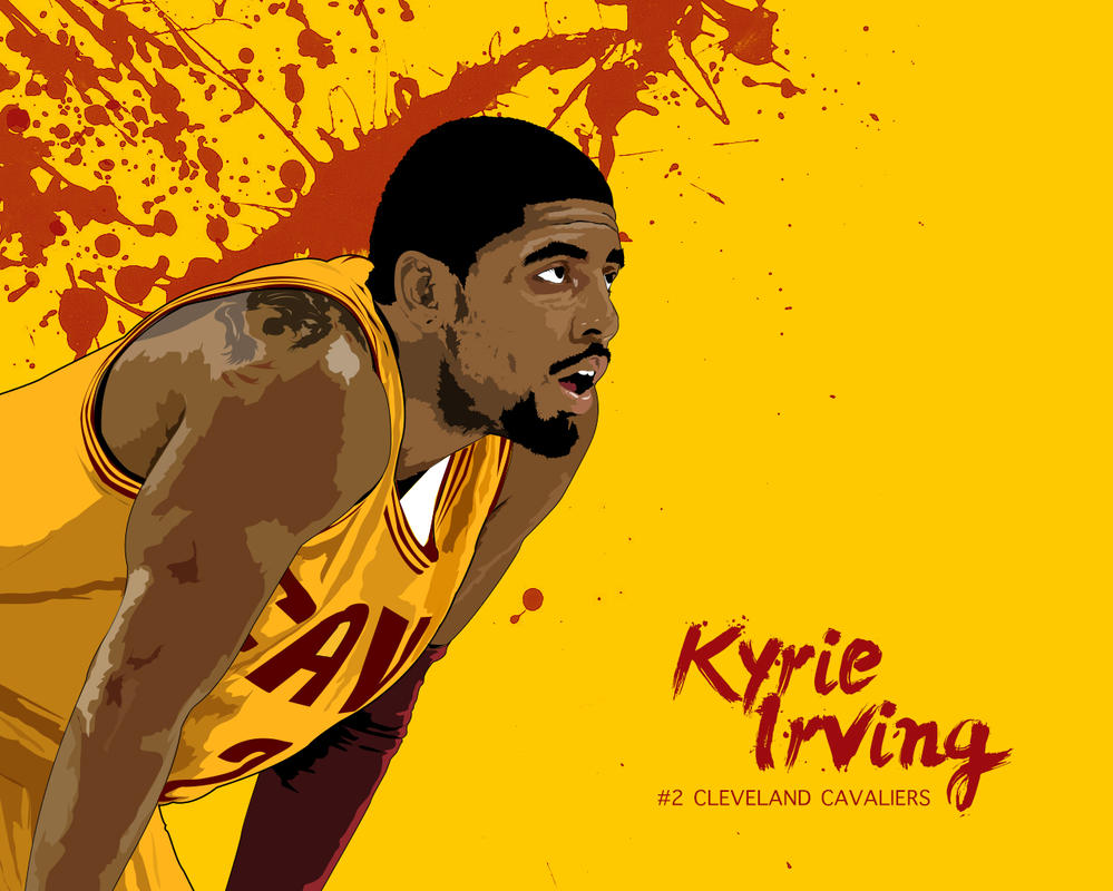 Kyrie Irving By FallOutHero