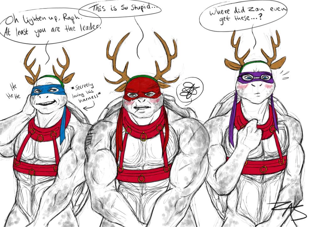 My loyal reindeer~ by XxHeartless-KoyotexX