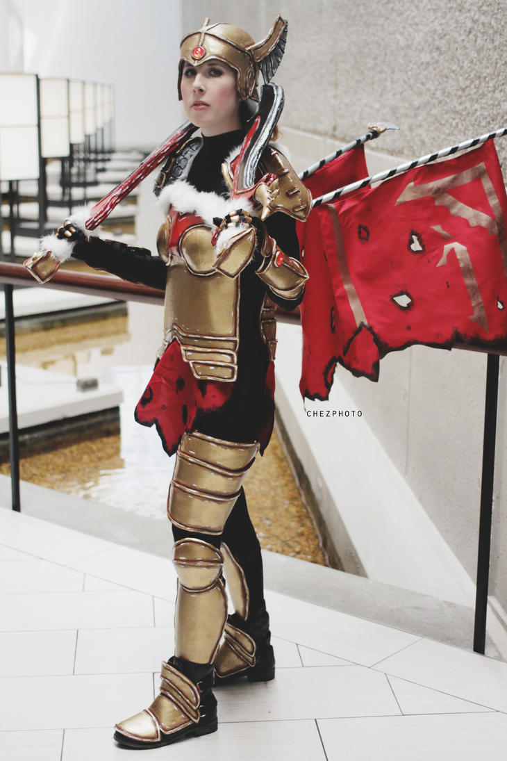 Legion Commander, DOTA 2 by Alanaowlet on DeviantArt