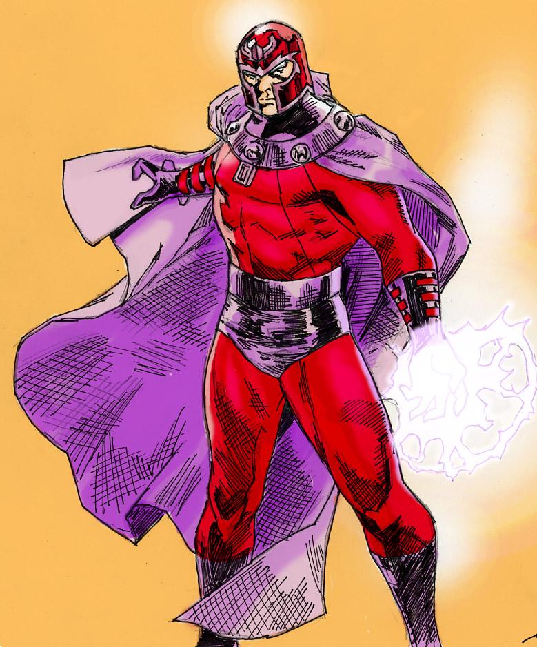 Magneto: Master of Magnetism by spriteman1000