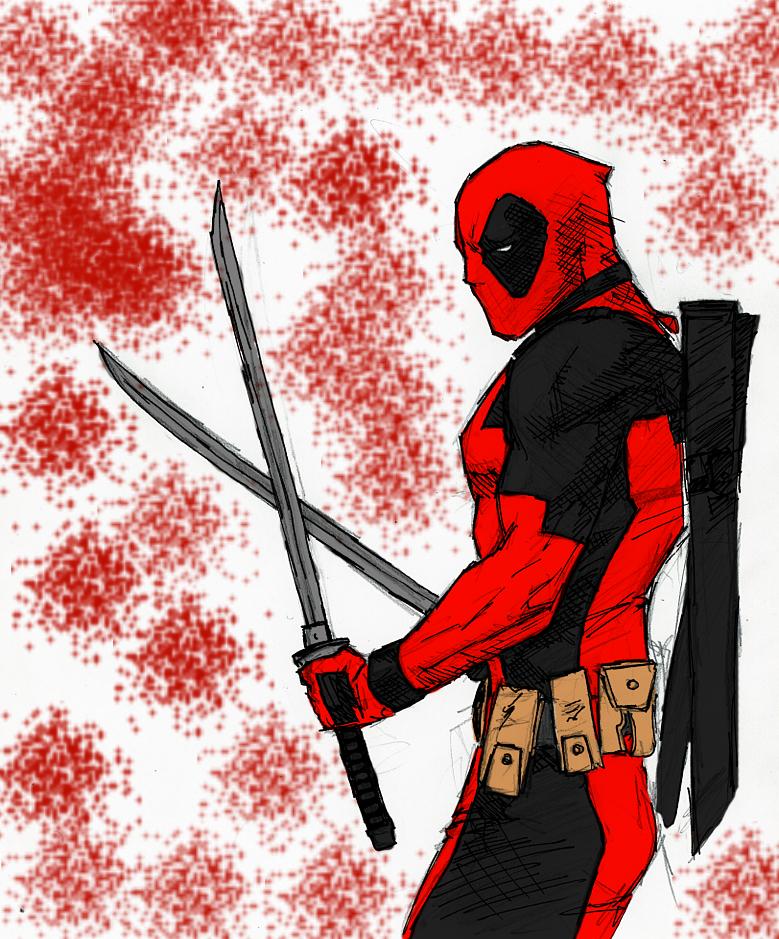 Deadpool by spriteman1000