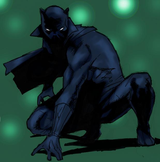Black Panther by spriteman1000
