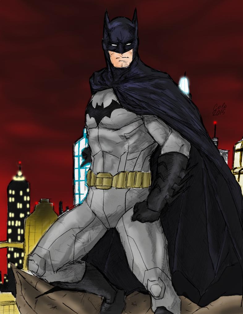 Batman by spriteman1000