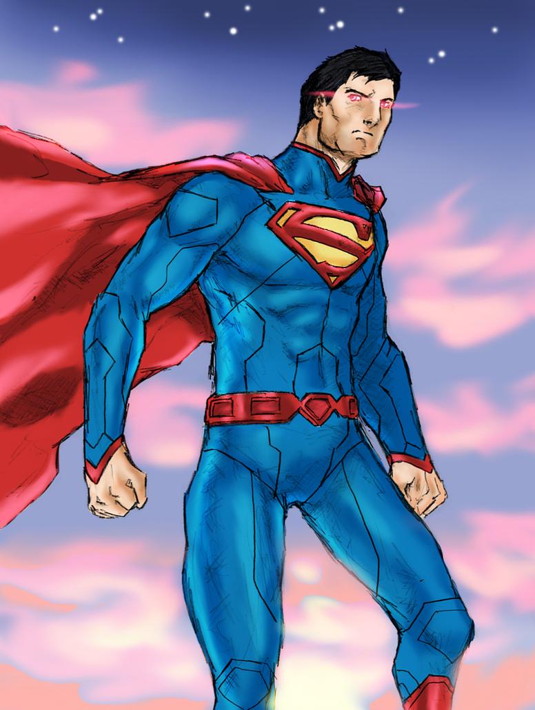 Superman by spriteman1000