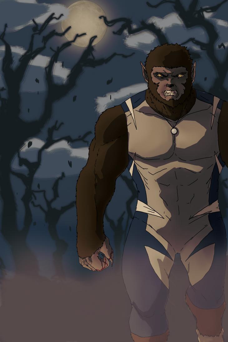 Sirius the Wolfman by spriteman1000