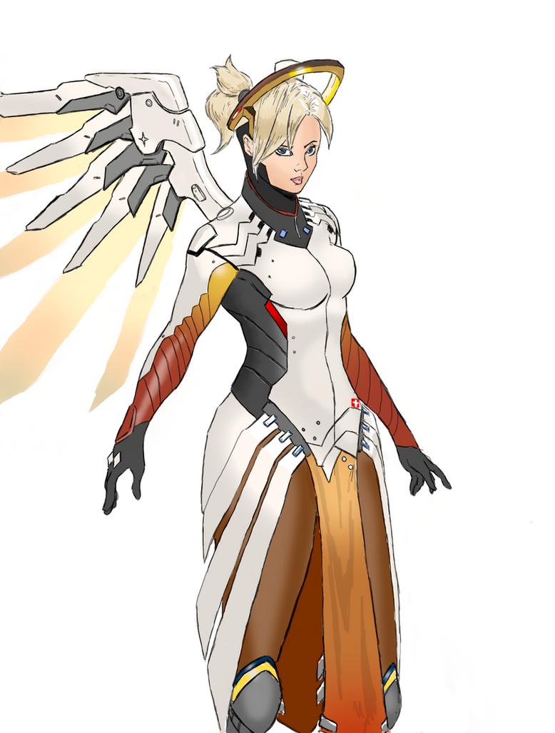 Mercy by spriteman1000
