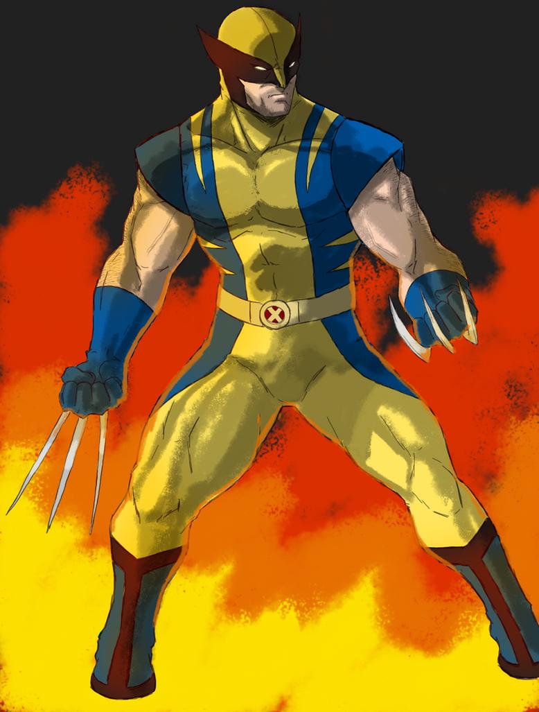 Wolverine by spriteman1000