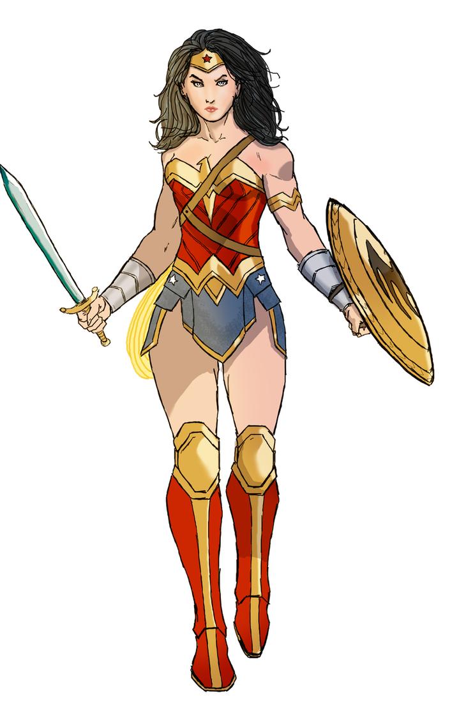 Wonder Woman by spriteman1000
