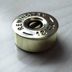Shotgun shell guitar knob