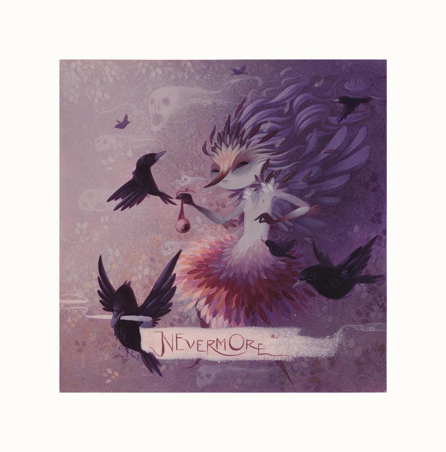 Raise Ravens by LorenaAlvarez