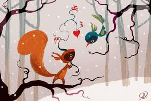 Snow by LorenaAlvarez