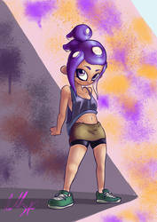 Octoling Hairstyle 2
