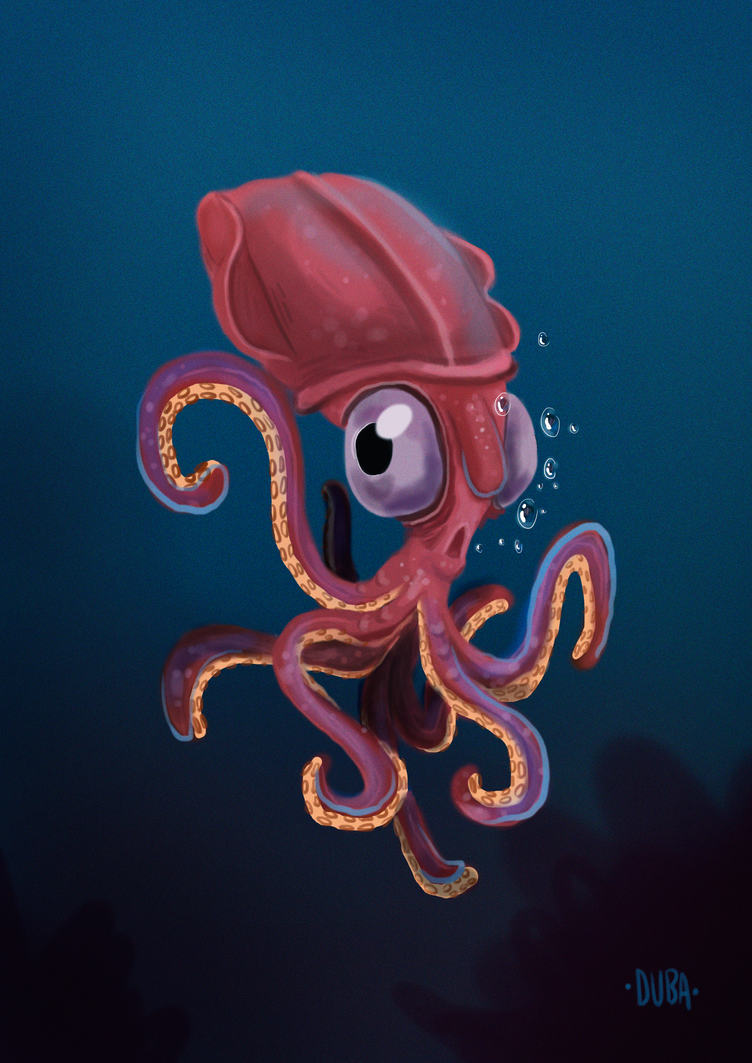 Squid by psduba