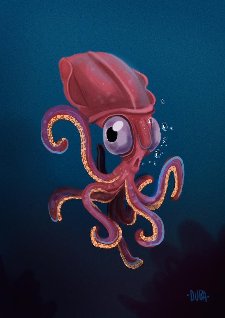 Squid by psduba