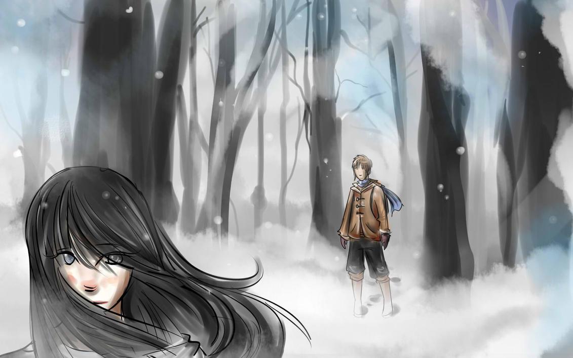 Lost in the Woods by awisha-teh-ninja