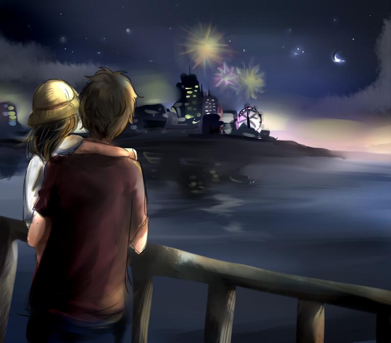 Fireworks by awisha-teh-ninja