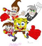 Nicktoons Unite Cover Colored