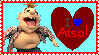 I Love Atso Stamp by TheLuLu99