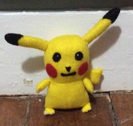 Miniature Pikachu Plush by TheLuLu99