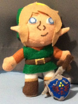 Cadence of Hyrule Link Plush Doll