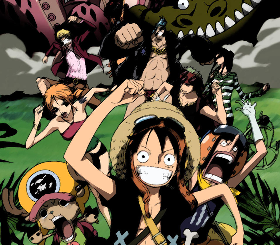 Film One Piece Strong World By Quantia13 On DeviantArt