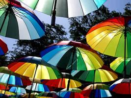 Umbrellas 1 by helice93