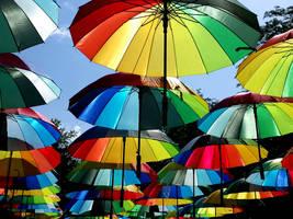 Umbrellas 2 by helice93