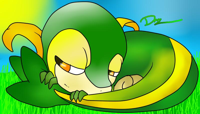 Snivy by Darren15