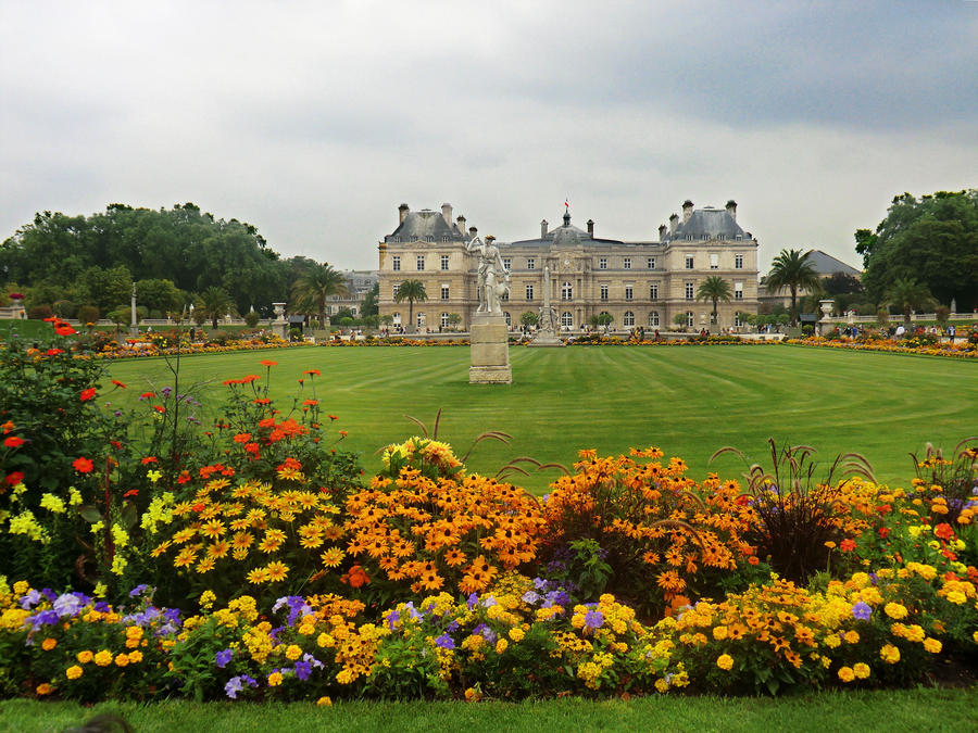 Jardin du luxembourg by annavalerevna on deviantart for Art jardin neufchateau