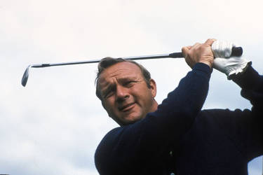 Mr. Arnold Palmer. The King, no longer with us.